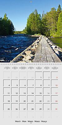 Finland - Land of a Thousand Lakes (Wall Calendar 2019 300 × 300 mm Square) - Produktdetailbild 3