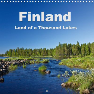 Finland - Land of a Thousand Lakes (Wall Calendar 2019 300 × 300 mm Square), Anja Ergler