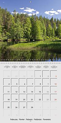 Finland - Land of a Thousand Lakes (Wall Calendar 2019 300 × 300 mm Square) - Produktdetailbild 2