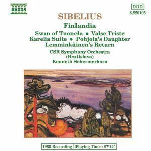 Finlandia/Valse Triste/+, Schermerhorn, Tsch.-Slowak.RSO