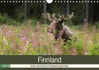 Finnland: eine tierische Entdeckungsreise (Wandkalender 2019 DIN A4 quer), Alexandra Wünsch