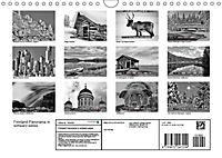 Finnland Panorama in schwarz-weiss (Wandkalender 2019 DIN A4 quer) - Produktdetailbild 13