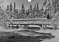 Finnland Panorama in schwarz-weiss (Wandkalender 2019 DIN A4 quer) - Produktdetailbild 4