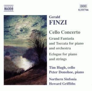 Finzi: Cellokonzert op. 40 / Eclogue für Klavier und Streicher op. 10 / Grosse Fantasie u. Toccata op. 38, Hugh, Donohoe, Griffiths, Ns