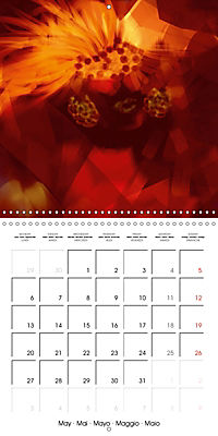 Fireworks In Red (Wall Calendar 2019 300 × 300 mm Square) - Produktdetailbild 5