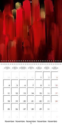 Fireworks In Red (Wall Calendar 2019 300 × 300 mm Square) - Produktdetailbild 11
