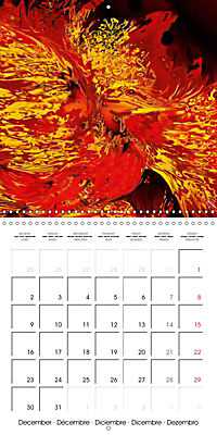Fireworks In Red (Wall Calendar 2019 300 × 300 mm Square) - Produktdetailbild 12