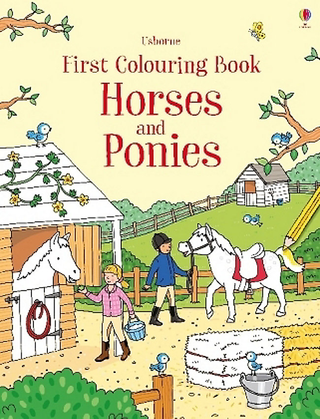 First Colouring Book Horses and Ponies Buch - Weltbild.at