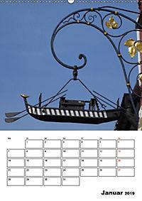 Fischerviertel in Ulm (Wandkalender 2019 DIN A2 hoch) - Produktdetailbild 1
