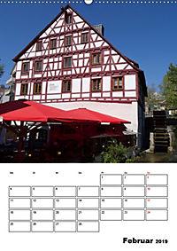 Fischerviertel in Ulm (Wandkalender 2019 DIN A2 hoch) - Produktdetailbild 2