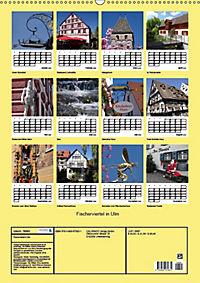 Fischerviertel in Ulm (Wandkalender 2019 DIN A2 hoch) - Produktdetailbild 13