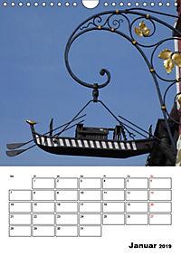 Fischerviertel in Ulm (Wandkalender 2019 DIN A4 hoch) - Produktdetailbild 1