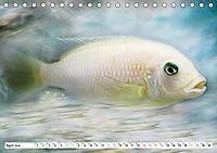 Fischwelt - Artwork (Tischkalender 2019 DIN A5 quer) - Produktdetailbild 4