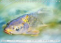 Fischwelt - Artwork (Tischkalender 2019 DIN A5 quer) - Produktdetailbild 1