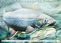 Fischwelt - Artwork (Tischkalender 2019 DIN A5 quer) - Produktdetailbild 3