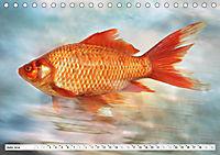 Fischwelt - Artwork (Tischkalender 2019 DIN A5 quer) - Produktdetailbild 6