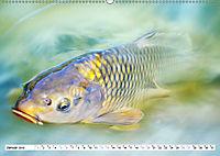 Fischwelt - Artwork (Wandkalender 2019 DIN A2 quer) - Produktdetailbild 1