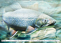 Fischwelt - Artwork (Wandkalender 2019 DIN A2 quer) - Produktdetailbild 3