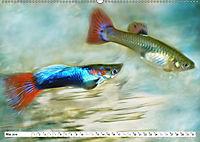 Fischwelt - Artwork (Wandkalender 2019 DIN A2 quer) - Produktdetailbild 5
