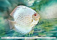 Fischwelt - Artwork (Wandkalender 2019 DIN A2 quer) - Produktdetailbild 10