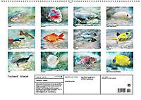 Fischwelt - Artwork (Wandkalender 2019 DIN A2 quer) - Produktdetailbild 13
