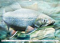 Fischwelt - Artwork (Wandkalender 2019 DIN A3 quer) - Produktdetailbild 3