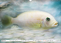 Fischwelt - Artwork (Wandkalender 2019 DIN A3 quer) - Produktdetailbild 4