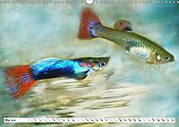Fischwelt - Artwork (Wandkalender 2019 DIN A3 quer) - Produktdetailbild 5