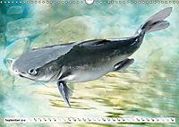 Fischwelt - Artwork (Wandkalender 2019 DIN A3 quer) - Produktdetailbild 9
