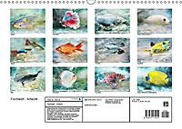 Fischwelt - Artwork (Wandkalender 2019 DIN A3 quer) - Produktdetailbild 13