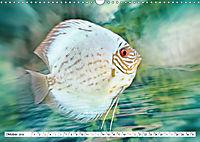 Fischwelt - Artwork (Wandkalender 2019 DIN A3 quer) - Produktdetailbild 10