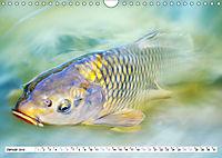 Fischwelt - Artwork (Wandkalender 2019 DIN A4 quer) - Produktdetailbild 1