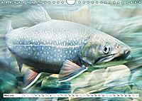 Fischwelt - Artwork (Wandkalender 2019 DIN A4 quer) - Produktdetailbild 3