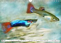 Fischwelt - Artwork (Wandkalender 2019 DIN A4 quer) - Produktdetailbild 5