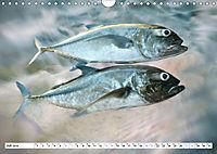 Fischwelt - Artwork (Wandkalender 2019 DIN A4 quer) - Produktdetailbild 7