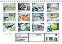 Fischwelt - Artwork (Wandkalender 2019 DIN A4 quer) - Produktdetailbild 13
