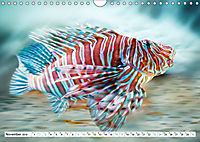 Fischwelt - Artwork (Wandkalender 2019 DIN A4 quer) - Produktdetailbild 11