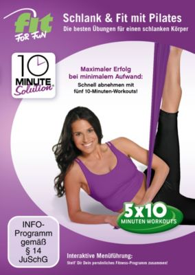 Fit for Fun - 10 Minute Solution: Schlank & fit mit Pilates, Fit For Fun-10 Minute Solution