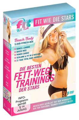 Fit for Fun: Fit wie die Stars - Die besten Fett-Weg Trainings der Stars, Fit For Fun Stars-Various