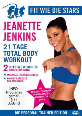 Fit for Fun - Fit wie die Stars: Jeanette Jenkins - 21 Tage Total Body Workout, Fit For Fun Stars, Jeanette Jenkins