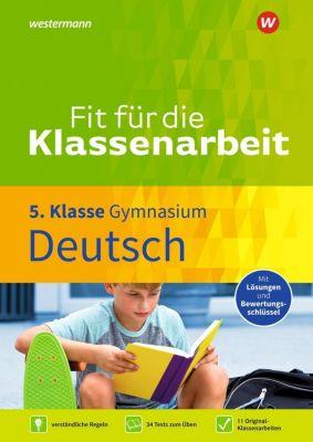 Fit für die Klassenarbeit - Gymnasium - Deutsch 5 - Thorsten Zimmer pdf epub