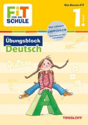 Fit für die Schule: Übungsblock Deutsch 1. Klasse - Werner Zenker  