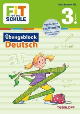 Fit für die Schule: Übungsblock Deutsch 3. Klasse - Werner Zenker |
