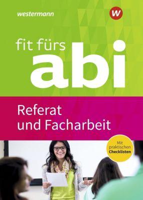 Fit fürs Abi: Referat und Facharbeit - Karlheinz Uhlenbrock pdf epub