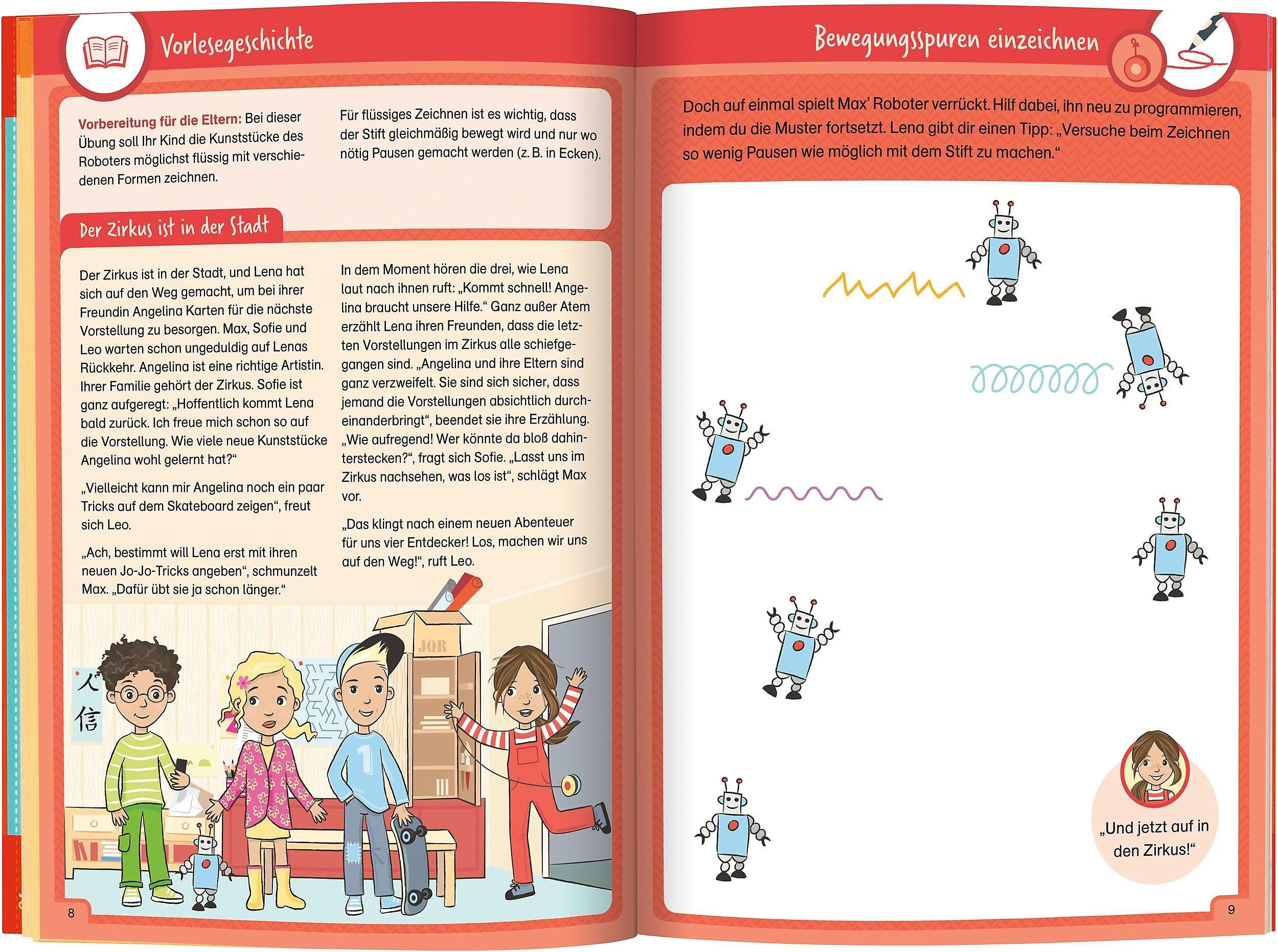 Fit fürs Schreibenlernen: flüssig mit dem Stift Vorschule Buch