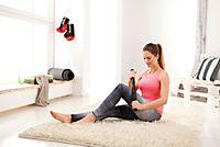 Fitness-Set FaszienPlus+ Fitnessrolle und Massageroller, 2er-Set - Produktdetailbild 2