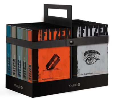Fitzek-Box, 10 Bände, Sebastian Fitzek