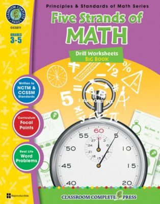Five Strands of Math - Drills Big Book, Nat Reed, Mary Rosenberg, Chris Forest, Tanya Cook
