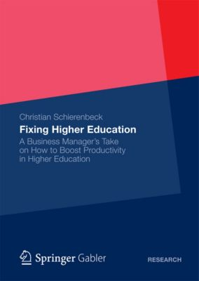 Fixing Higher Education, Christian Schierenbeck