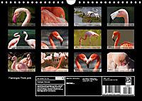 Flamingos Think pink (Wall Calendar 2019 DIN A4 Landscape) - Produktdetailbild 13